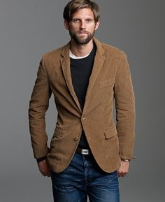 corduroy sport coat with t-shirt and jeans | Annie Kip STYLE Tips ...