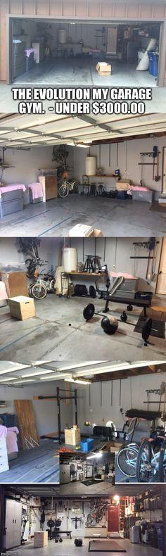 Crossfit garage gym (rogue fitness)