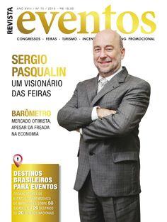 Edição 75 Especial Destinos Capa - Sergio Medina Pasqualin - Diretor Expo Center Norte
