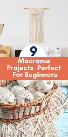 Macrame Design, Macrame Art, Macrame Projects, Macrame Knots, Weaving Projects, Macrame Jewelry, Crafty Projects, Easy Projects, Diy Crafts To Sell