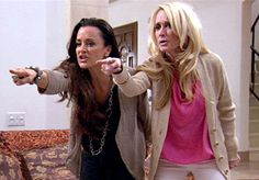 The Real Housewives of Beverly Hills (this is so me and jaemie when you make us both mad! watch out!)