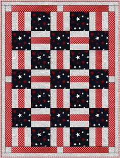 Porch Rails Easy 3 Yard Downloadable Quilt Pattern With this economically-priced pattern, you simply take 3, one-yard cuts of fabric plus a few hours and make a beautiful quilt top with binding and borders. The pattern includes an assembly diagram and step-by-step directions that make your