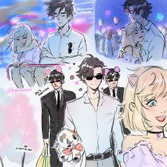 x Jumin funfair date!🍭🎡 a continuation from last Anon! Jumin X Mc, Mystic Messenger Jumin, Mystic Messenger Characters, Jumin Han, Naruto E Boruto, Cute Anime Couples, Anime Guys, Anime Art, Sketches