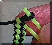 How to make a bracelet.