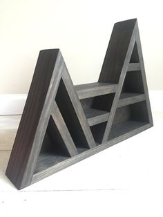 Triangle Shelf for Crystal Display