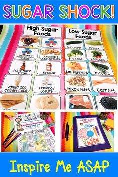 Are you looking for a science experiment that teaches your students about the amount of sugar in the Nutrition Chart, Nutrition Month, Nutrition Education, Kids Nutrition, Nutrition Tips, Health And Nutrition, Science Nutrition, Nutrition Tracker, Nutrition Activities