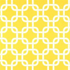 """This is a beautiful white and corn yellow contemporary drapery fabric by Premier Prints. Ideal as curtain fabric, drapery fabric, bedding fabric, headboard fabric, decorative pillows. Fabric suitable for many home decorating applications. Dry cleaning recommended. Compared at $13.95.Width: 54""""H.Repeat: 3.8""""V.Repeat: 4.2""""100% CottonV114TNFItem ships one week from order date"""