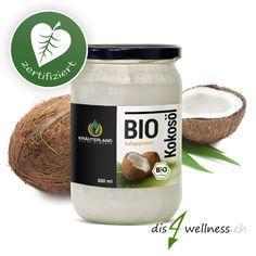 Natürliches Kokosöl von Kräuterland aus biologischem Anbau. Nur so lange der Vorrat reicht. #kokosöl #dis4wellness #angebot #rabatt #naturprodukt #gesundeernährung #vegan #gesundheit #fitness #bewussteernährung #kokosnussöl #kokos #bio