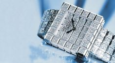 Chopard - Super Ice Cube - Price: million --- This is the case of speaking title. The Chopard's Super Ice Cube freaky square-faced dial exhibits 66 carats of diamonds with 1897 brilliants. Swiss jewelry Chopard released this strange model. Expensive Watches, Most Expensive, Cool Watches, Watches For Men, Unique Watches, Wrist Watches, Woman Watches, Ladies Watches, Fine Watches