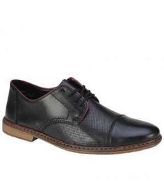 Pantofi Barbati Piele Rieker Perforati Men Dress, Dress Shoes, Derby, Oxford Shoes, Lace Up, Fashion, Moda, Fashion Styles, Fashion Illustrations