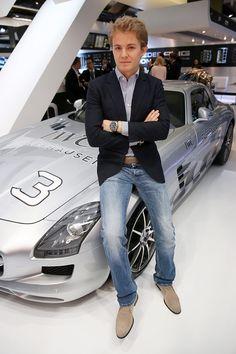 Nico Rosberg - IWC Ingenieur Perpetual Calendar Digital Date-Month