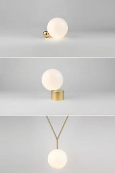 New lights from Michael Anastassiades, presented at Euroluce, Milan 2013.
