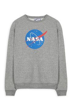Sudadera gris de la NASA