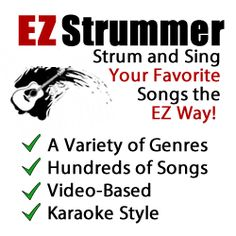 Learn how to play your favorite songs on guitar with EZ Strummer.. Check it out!