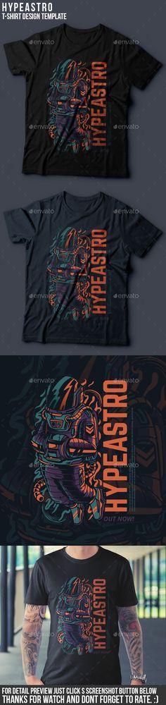 Hypeastro T-Shirt Design