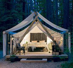 Pampered Wilderness, Safari Suite - Olympia National Park (Washington)