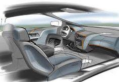 Resultado de imagen para interior car design sketch