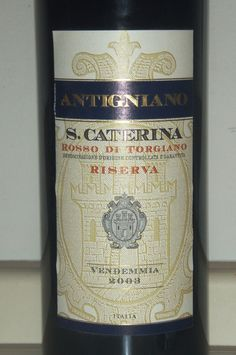 [Sangiovese] One wine a day: Santa Caterina - Torgiano Rosso