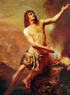 Rodolfo Amoedo - O Sacrifício de Abel
