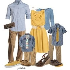 family outfits for spring pictures - Google Search