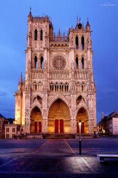 Cathédrale Notre-Dame d'Amiens   by o coeur de la photo