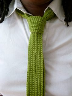 really liking knitted skinny ties. wonder if Jeremy would be so brave