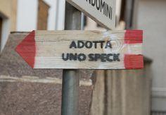 #speck #trentino #insegna