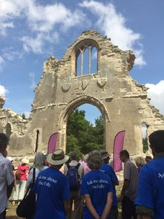 The official open day of the newly-restored Wimpole Folly.