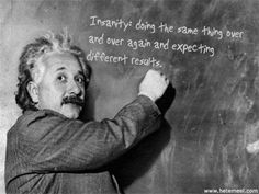 Mr. Nesbitt's Quote via Albert Einstein.