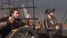 Shay Cormac and Capt. Dragon Age, Skyrim, Assassins Creed Rogue, All Assassin's Creed, James Cook, Ac2, Geek Things, Video Games, Artwork