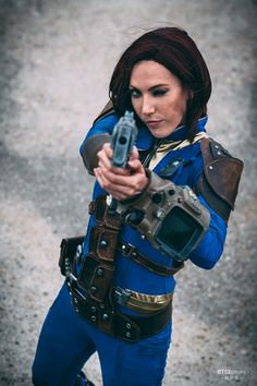Fallout 4 Sole Survivor Cosplay                                                                                                                                                                                 More