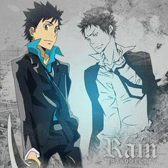 Rain - Tranquility [GIF] by YeyeC - Yamamoto Takeshi Reborn Katekyo Hitman, Hitman Reborn, Mafia, Reborn Anime, Otaku Mode, Air Gear, D Gray Man, All Anime, Anime Shows