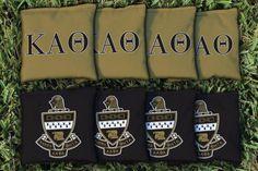 Cornhole All Weather Bag Set - Kappa Alpha Theta