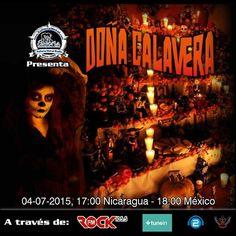#DoñaCalavera en #EuforiaMetal a Radio y #LaRockFM