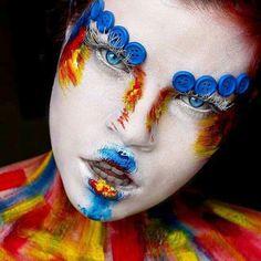 #makeup #makeupartist #mua #artist #colours #bluemakeup #blue #artisticmakeup #fantasymakeup #fantasy #colourmakeup #abstractmakeup #art