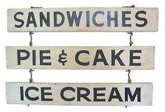 Roadside Diner Sign on OneKingsLane.com
