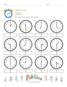 math worksheet : telling time quarter hour worksheet 6  telling time worksheets  : Math Skills Worksheets