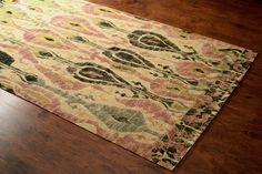 Rugs USA Maui Ikat Printed Jute Multi Rug. Rugs USA Labor Day Sale up to 80% Off! Area rug, rug, carpet, design, style, home decor, interior design, pattern, trends, home, statement, fall, cozy, sale, discount, interiors, house, free shipping.