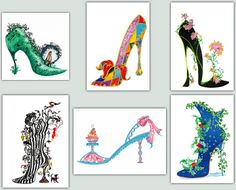 BFC-Creations Sally King's Shoes for 2015 Part 2 Machine Embroidery Designs Free Designs It's hard for me to pick a favorite among Sally's new shoes. As always she delights with her use of whimsy and color!