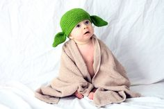 someday i will make this little yoda hat for your baby :)