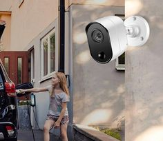 Ansjer Full HD Security Camera System, 4 Channel DVR Recorder with 4 HD. Security Monitoring, Security Camera System, Protecting Your Home, 20 Years, Outdoor, Outdoors, Outdoor Games, The Great Outdoors