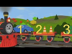 Learn to Count with Shawn the Train  -  Fun and Educational Cartoon for ...