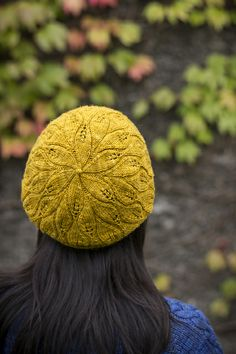 Ravelry: Project Gallery for Rustling Leaves Beret pattern by Alana Dakos