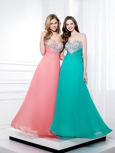 Wholesale Top Selling ! Strapless A-line Beaded Crystal Zipper Prom Dresses  2014 Custom Made f4b882e5afb1