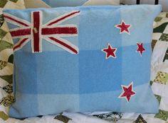 NZ Flag Cushion