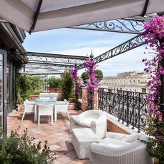 Take in Views of Rome from This Incredible Hotel Penthouse Rome Hotels, Best Hotels, Feng Shui, Leading Hotels, Mosquito Curtains, Outdoor Spaces, Outdoor Decor, Outside Living, Beautiful Hotels