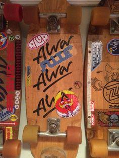 Alva tri logo Old School Skateboards, Vintage Skateboards, Lacey Baker, Bufoni, Lords Of Dogtown, Jay Adams, Venice Beach California, Skate Board, Skateboard Decks