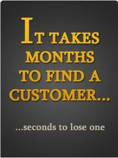 It takes months to find a customer… http://www.NancyBadillo.com