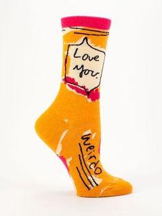 Love You Weirdo - Socks