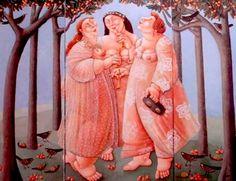The three graces. Artist: Ada Breedveld